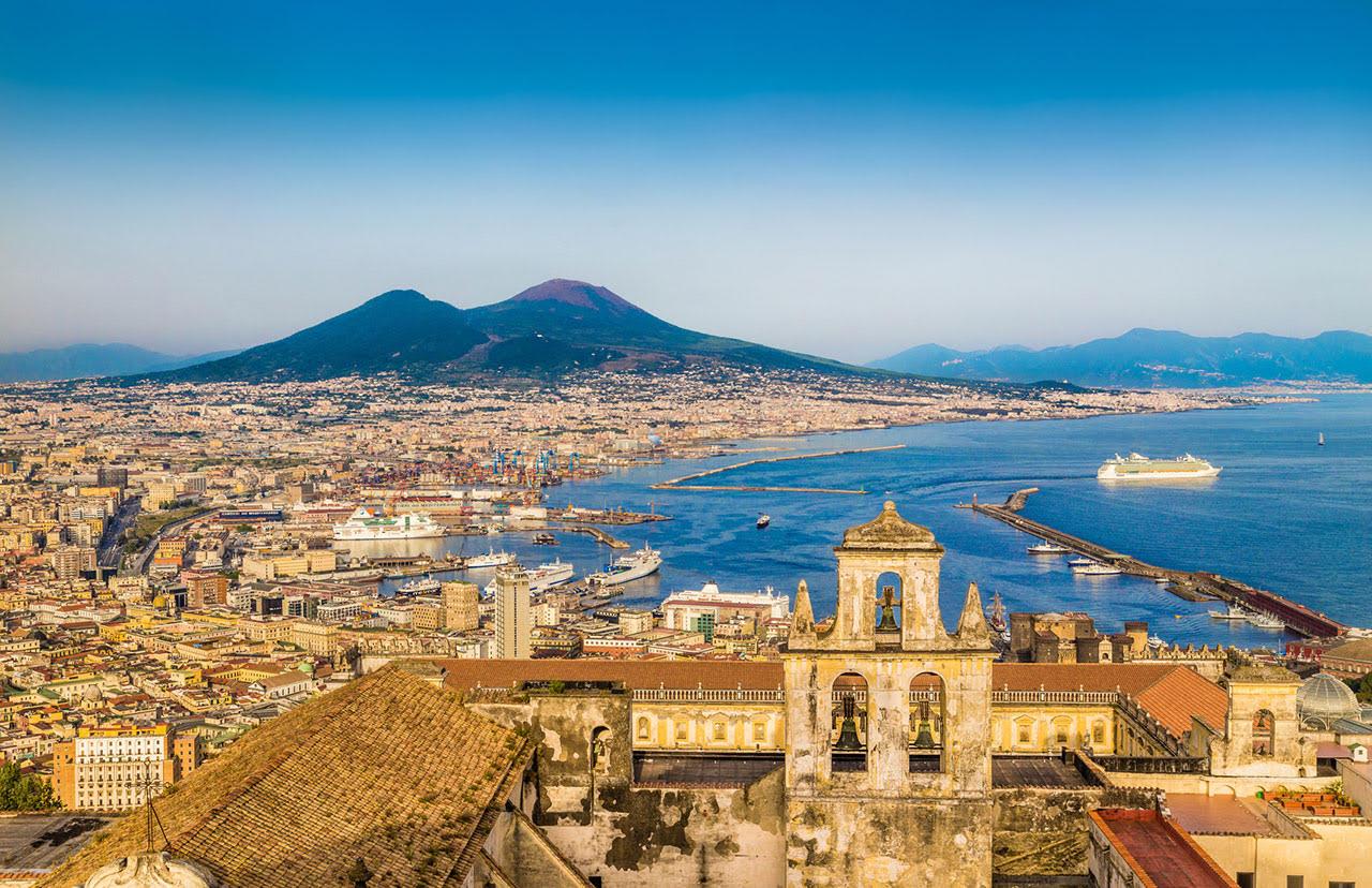voyage de groupe à Naples