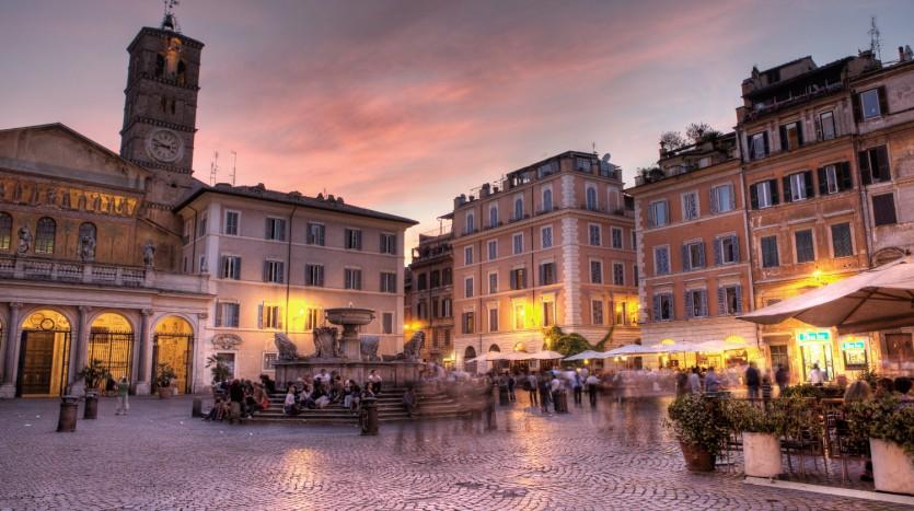 voyage de groupe à Rome