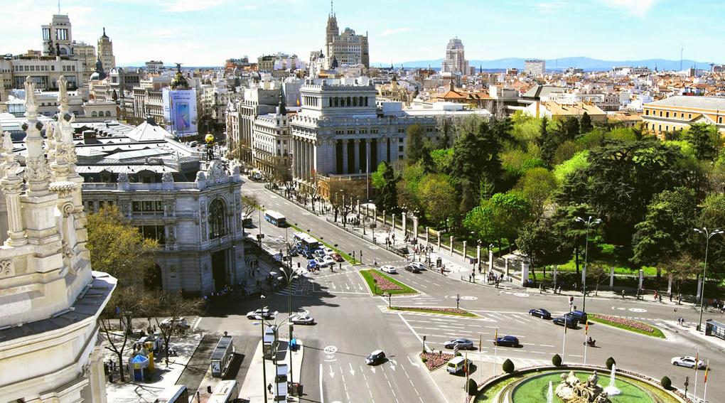 voyage de groupe à Madrid